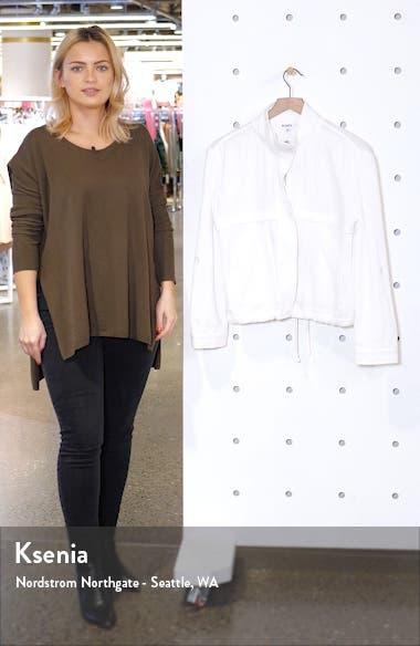 Roll Sleeve Cotton Jacket, sales video thumbnail