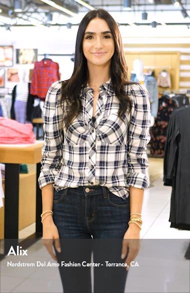 Tiki Long Sleeve Lace Faux Wrap Romper, sales video thumbnail