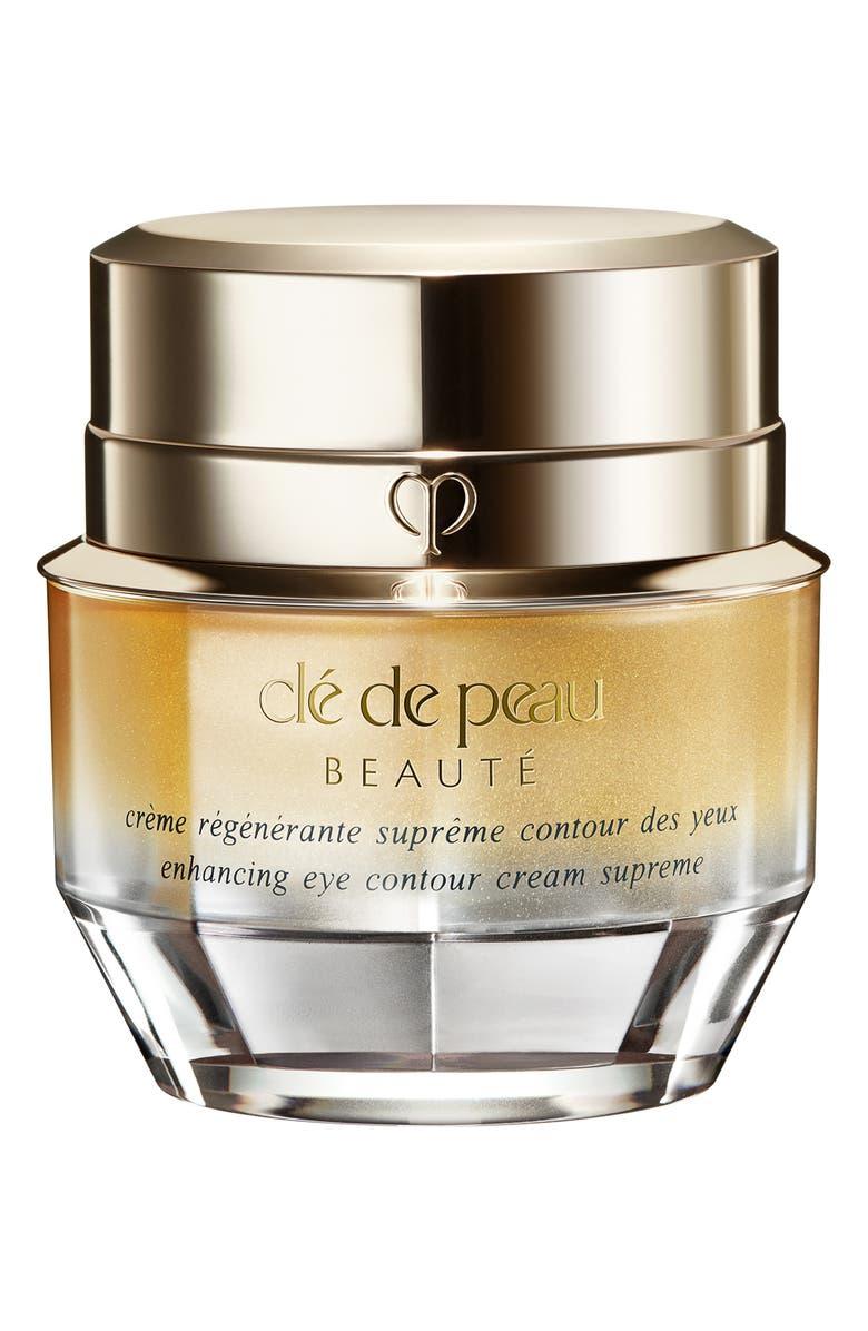 CLÉ DE PEAU BEAUTÉ Enhancing Eye Contour Cream Supreme, Main, color, NO COLOR