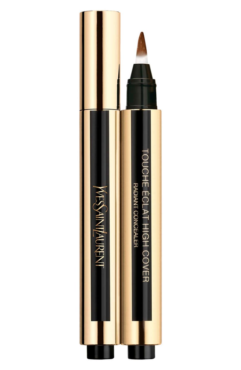 YVES SAINT LAURENT Touche Eclat High Cover Radiant Undereye Concealer Pen, Main, color, 9 ESPRESSO