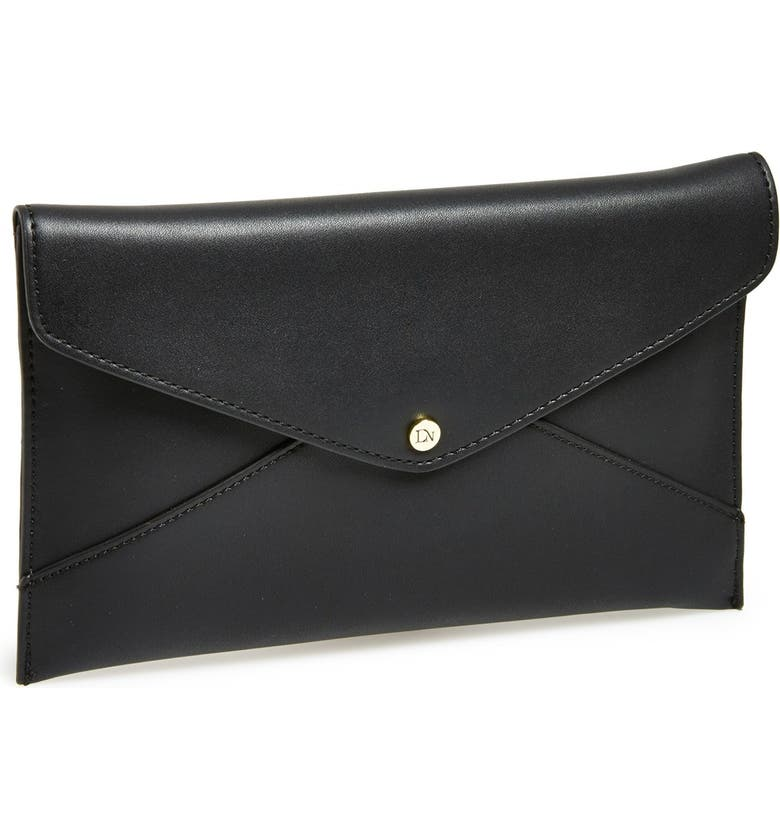 DANIELLE NICOLE 'Tina' Envelope Clutch, Main, color, 001