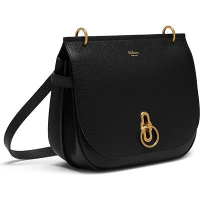 Mulberry Amberley Leather Crossbody Bag - Black