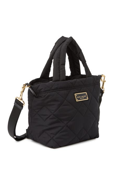 Image of Marc Jacobs Quilted Nylon Mini Tote Bag