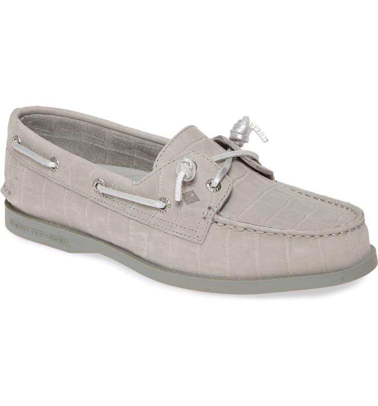 SPERRY Authentic Original Vida Boat Shoe, Main, color, 020