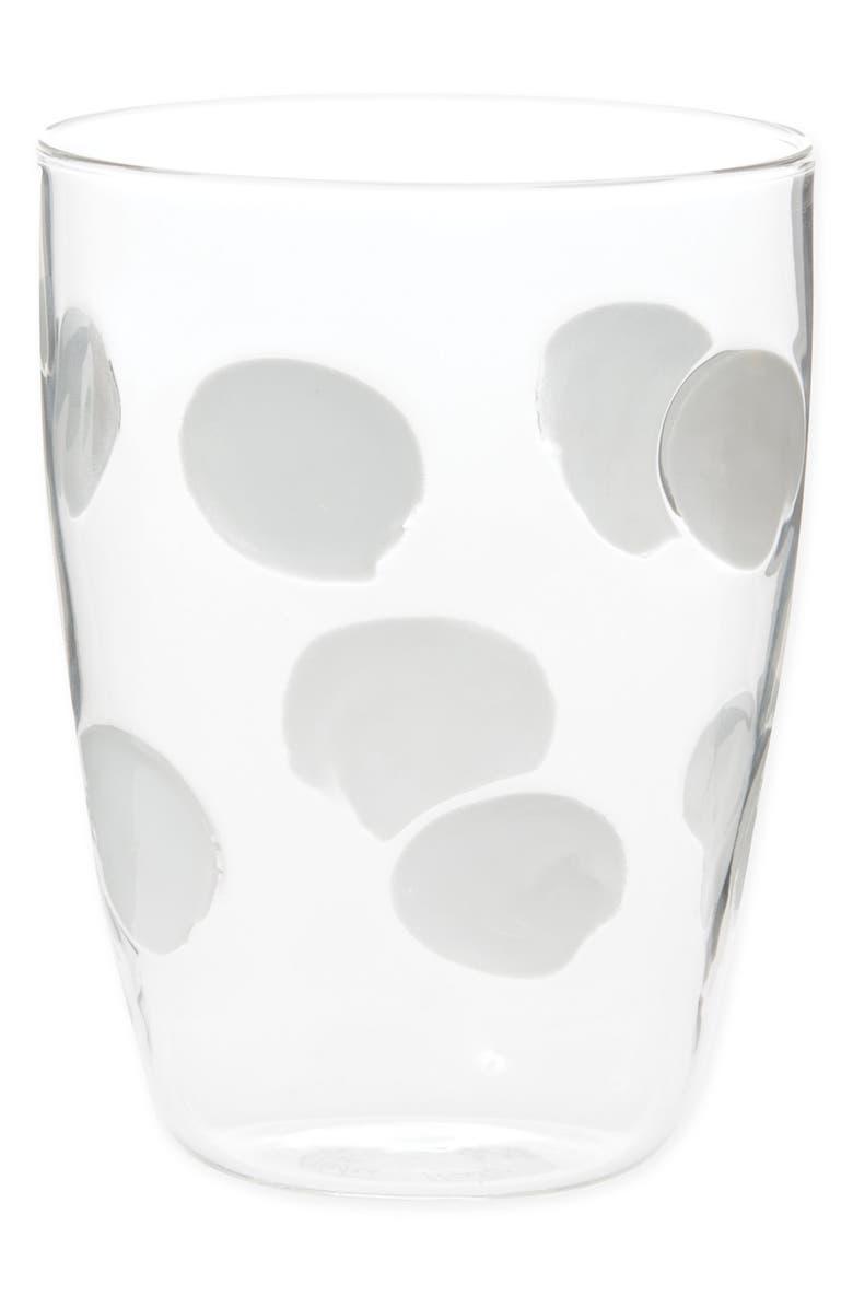 VIETRI Drop Tall Tumbler, Main, color, WHITE