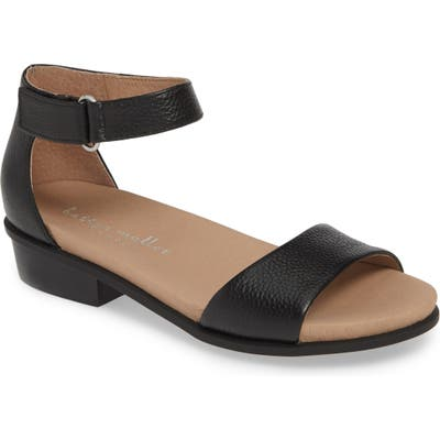 Bettye Muller Concepts Bello Ankle Strap Sandal, Black