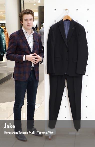 Roger Slim Fit Wool Suit, sales video thumbnail