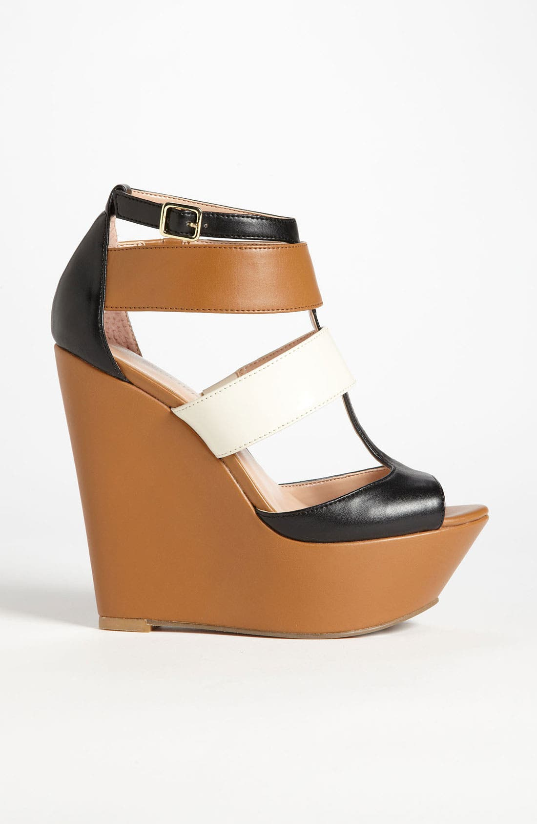 ,                             'Emma' Wedge Sandal,                             Alternate thumbnail 4, color,                             200
