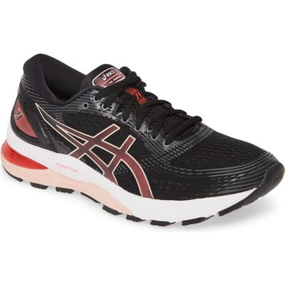 Asics Gel-Nimbus 21 Running Shoe, Black