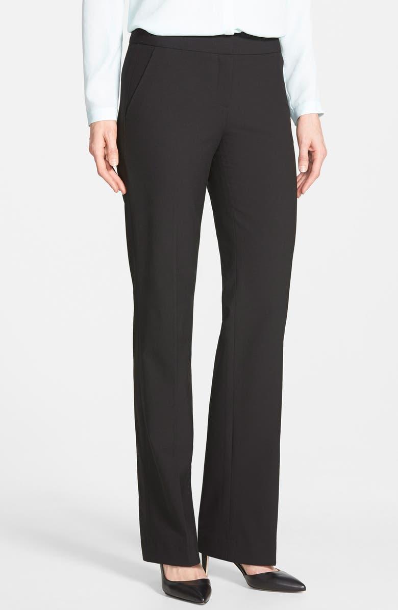 HALOGEN<SUP>®</SUP> 'Taylor' Stretch Suit Pants, Main, color, 001