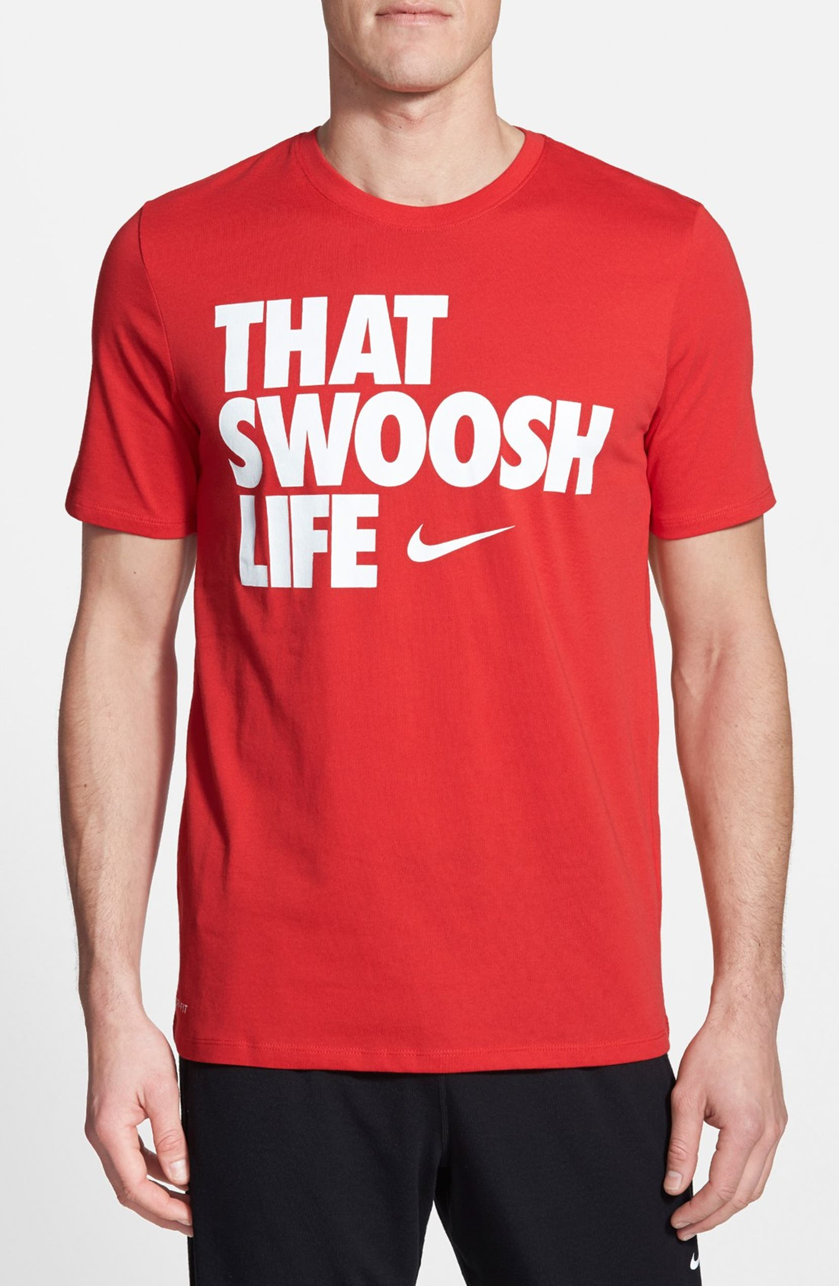 96fa38a4 Nike 'That Swoosh Life' Dri-FIT Graphic T-Shirt | Nordstrom