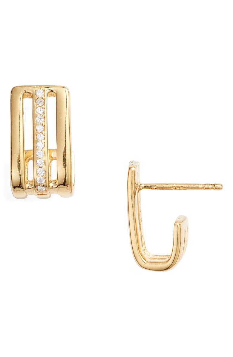 LEAH ALEXANDRA Déjà Cubic Zirconia Earrings, Main, color, 710