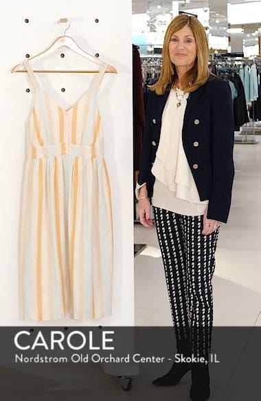 Button Front Stripe Dress, sales video thumbnail