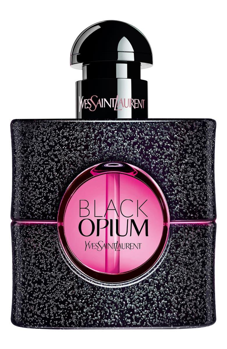YVES SAINT LAURENT Black Opium Eau de Parfum Neon, Main, color, NO COLOR
