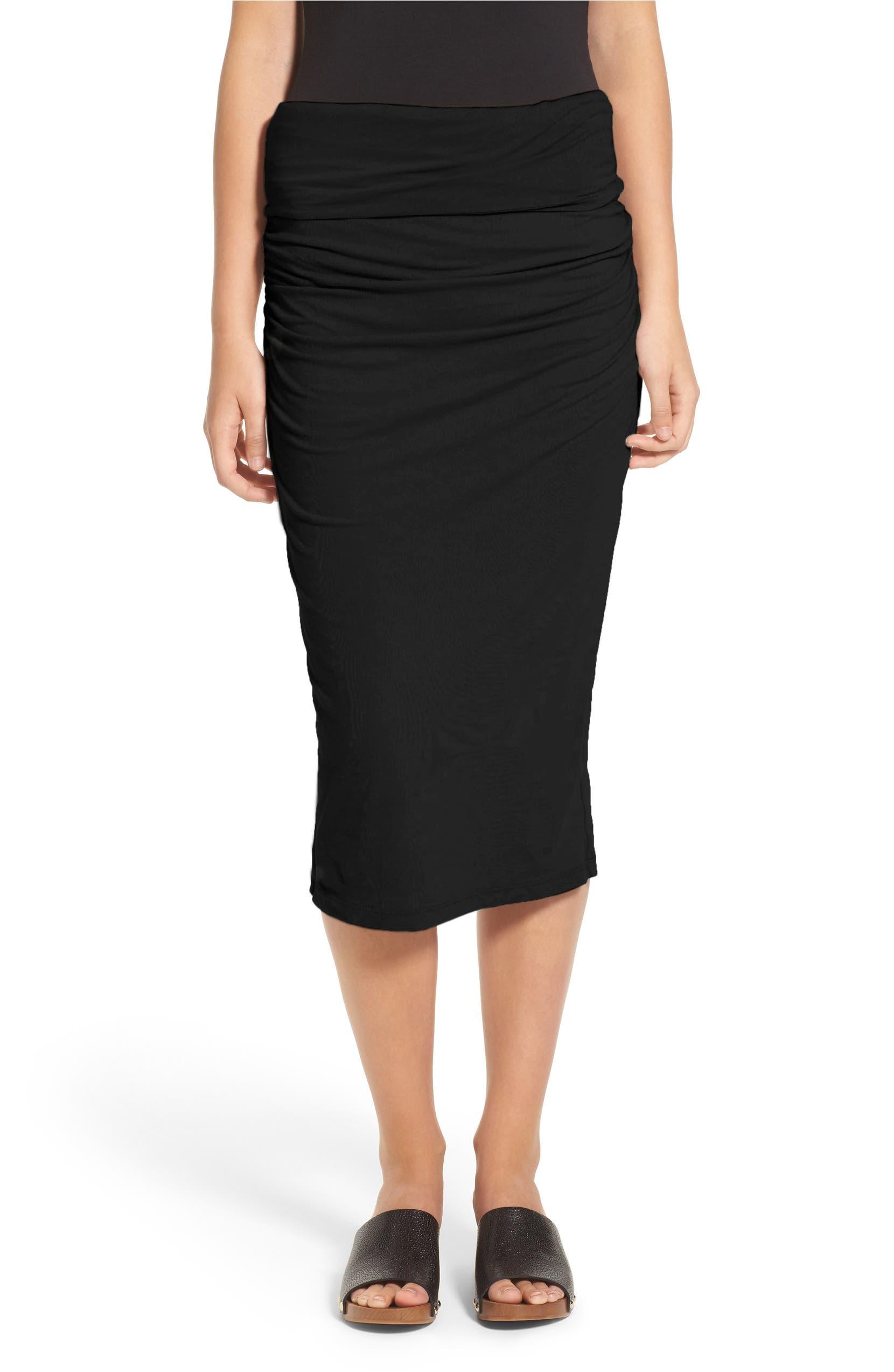 1fe2422ba James Perse Shirred Tube Skirt | Nordstrom