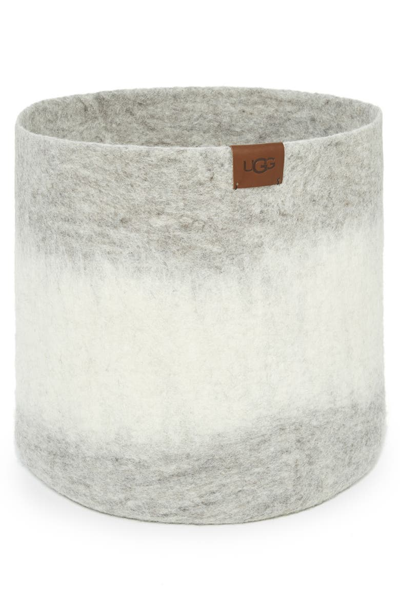 UGG Vista Mar Felted Wool Basket