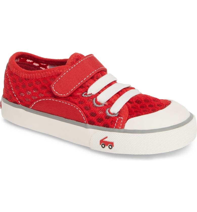 SEE KAI RUN Saylor Sneaker, Main, color, RED