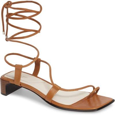 Rag & Bone Cindy Lace-Up Sandal - Brown