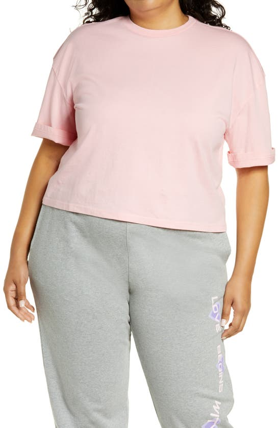 Bp. T-shirts COOL GIRL CROP T-SHIRT
