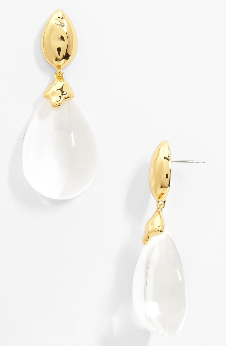 ALEXIS BITTAR 'Lucite<sup>®</sup>' Drop Earrings, Main, color, 100