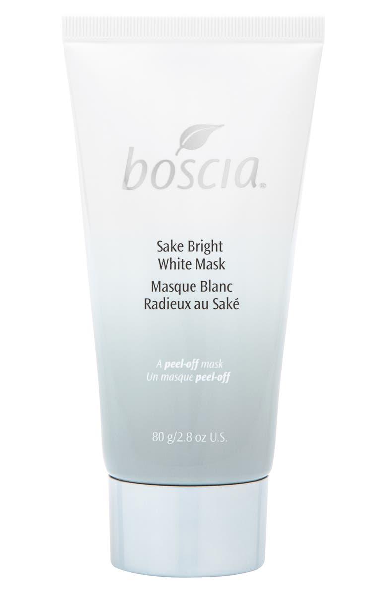 BOSCIA Sake Bright White Mask, Main, color, NO COLOR