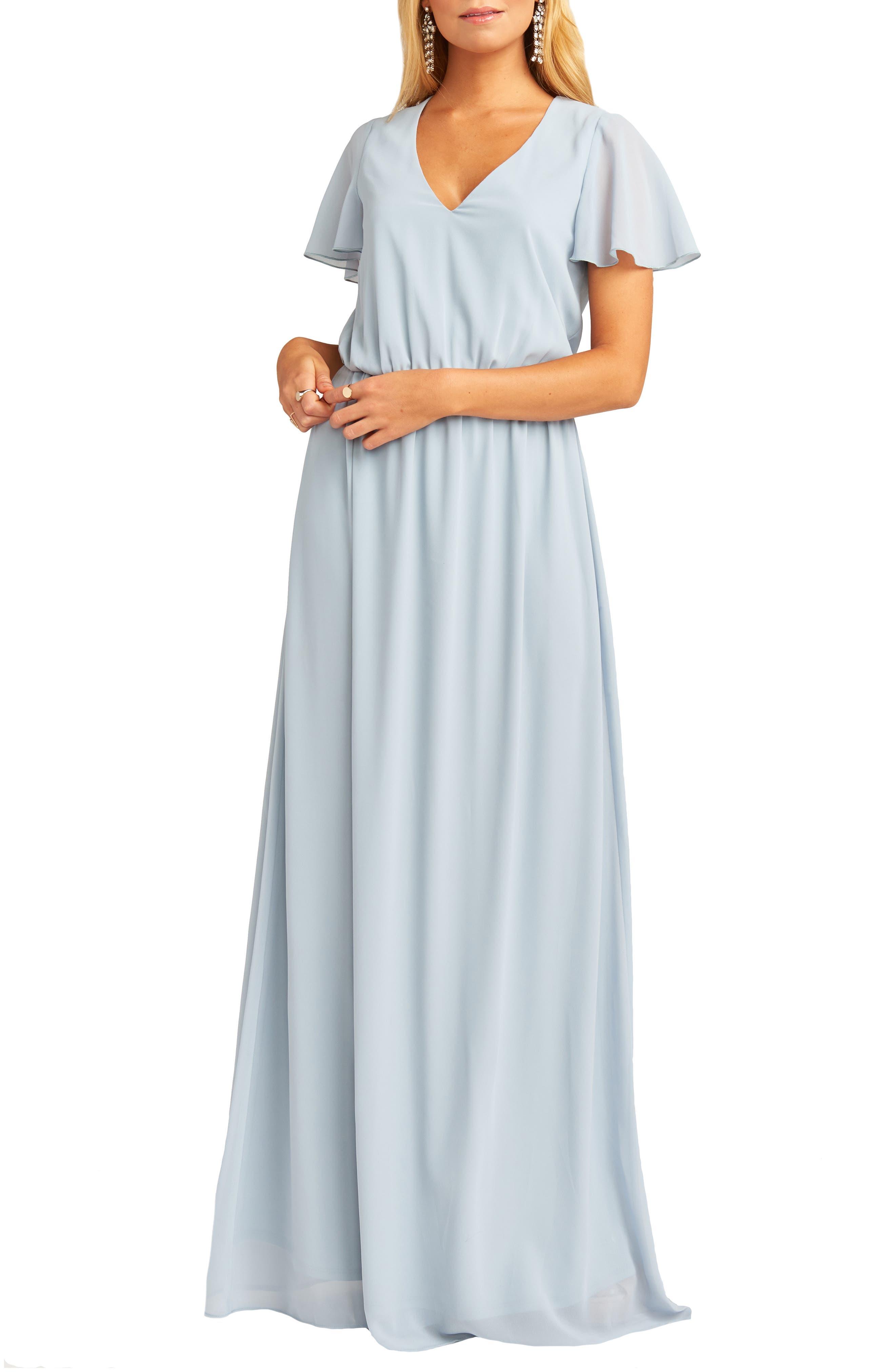 Show Me Your Mumu Michelle Maxi Dress, Blue