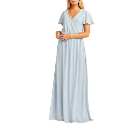 Show Me Your Mumu Michelle Maxi Dress, Blue