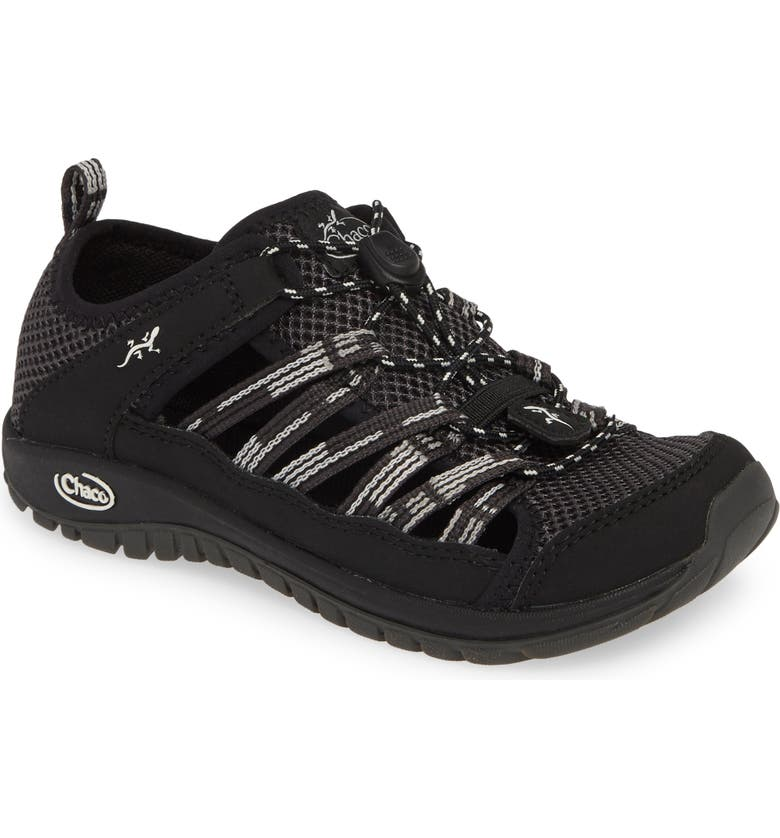 CHACO Outcross 2 Water Sneaker, Main, color, PAVEMENT BLACK