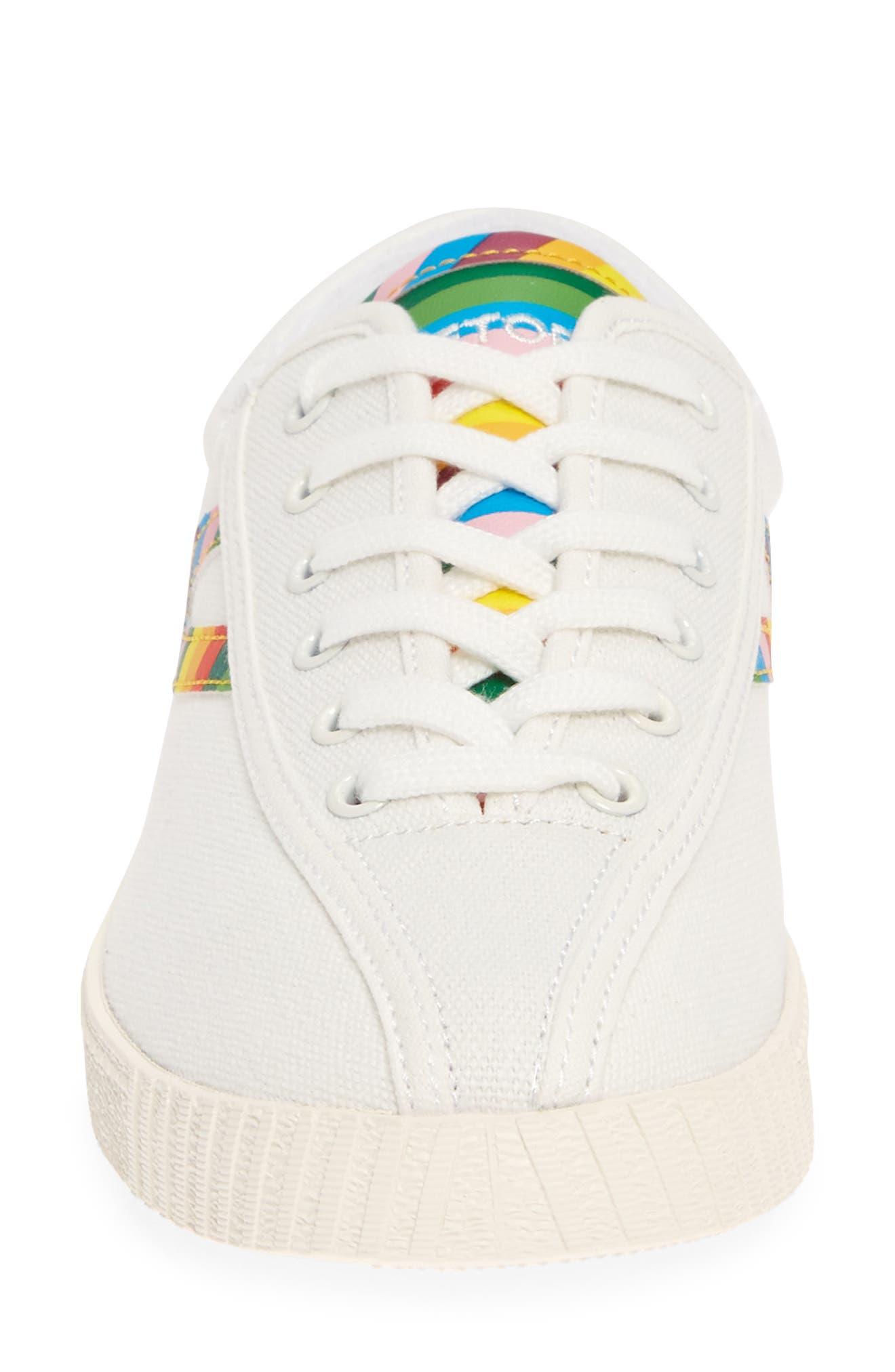 ,                             Nylite 28 Plus Sneaker,                             Alternate thumbnail 4, color,                             VINTAGE WHITE/ CLASSIC MULTI
