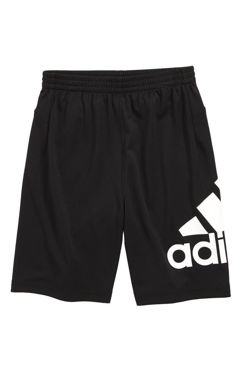 ADIDAS Speedbreaker Hype Climalite<sup>®</sup> Shorts, Main, color, BLACK