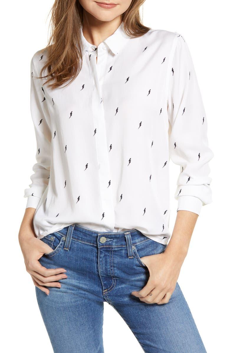 RAILS Taylor Star Stripe Shirt, Main, color, 100