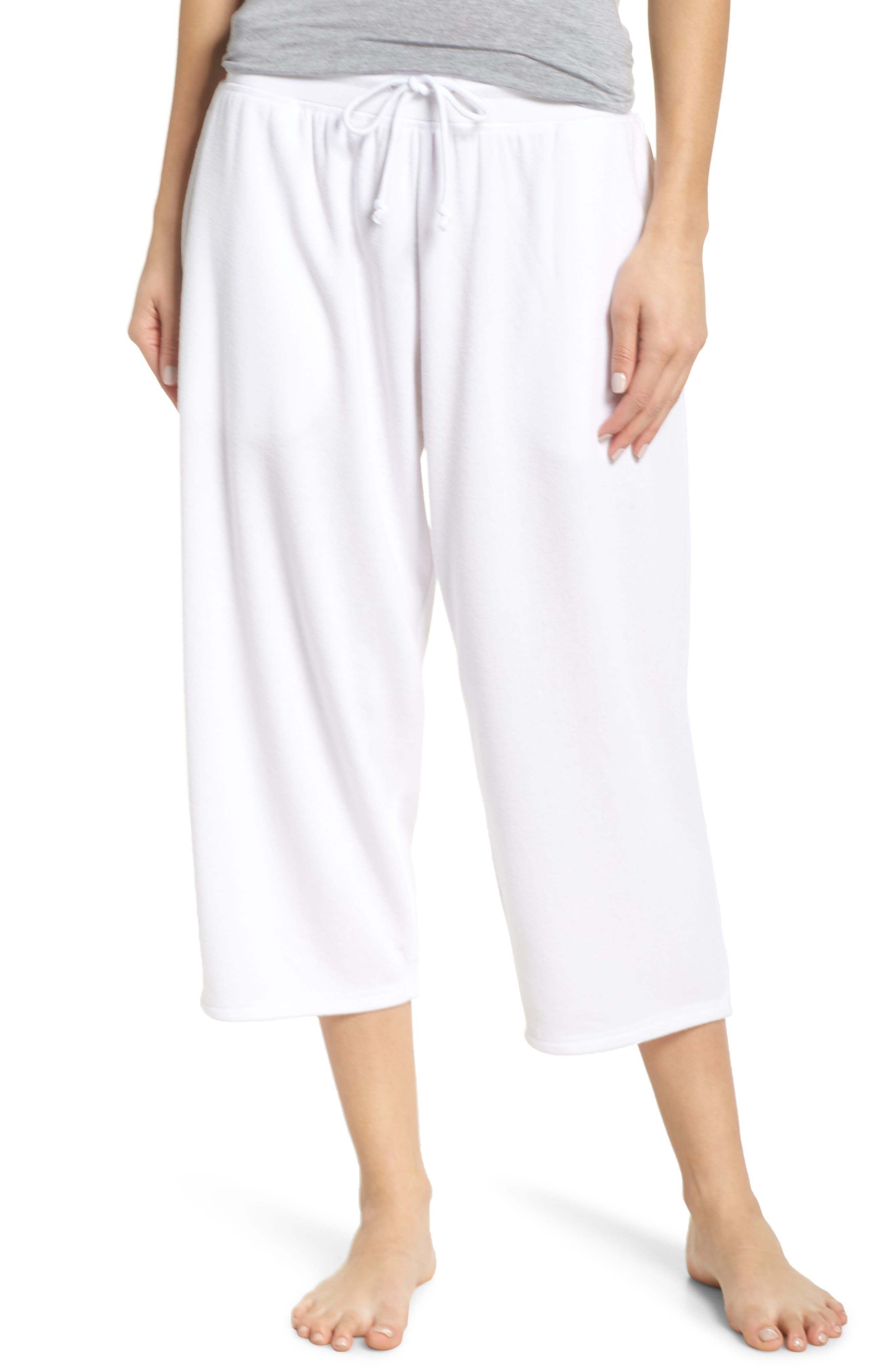 ,                             Cropped Fleece Pants,                             Main thumbnail 8, color,                             100