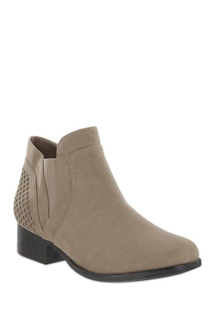 Image of MIA AMORE Londra Perforated Chelsea Bootie