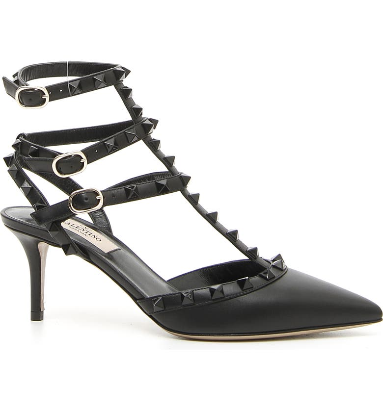 VALENTINO GARAVANI Rockstud Pump, Main, color, BLACK