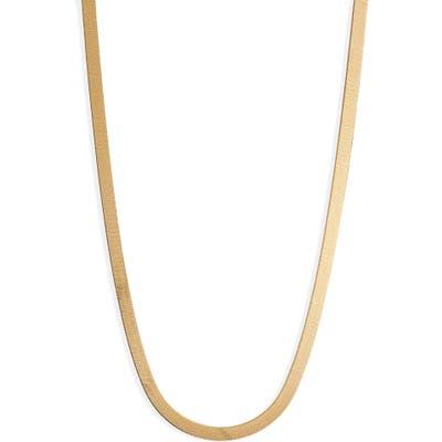 Argento Vivo Herringbone Chain Necklace