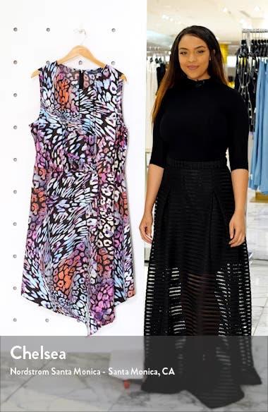Hani Asymmetrical Dress, sales video thumbnail