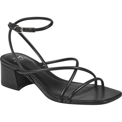 Marc Fisher Ltd Jared Ankle Strap Sandal, Black