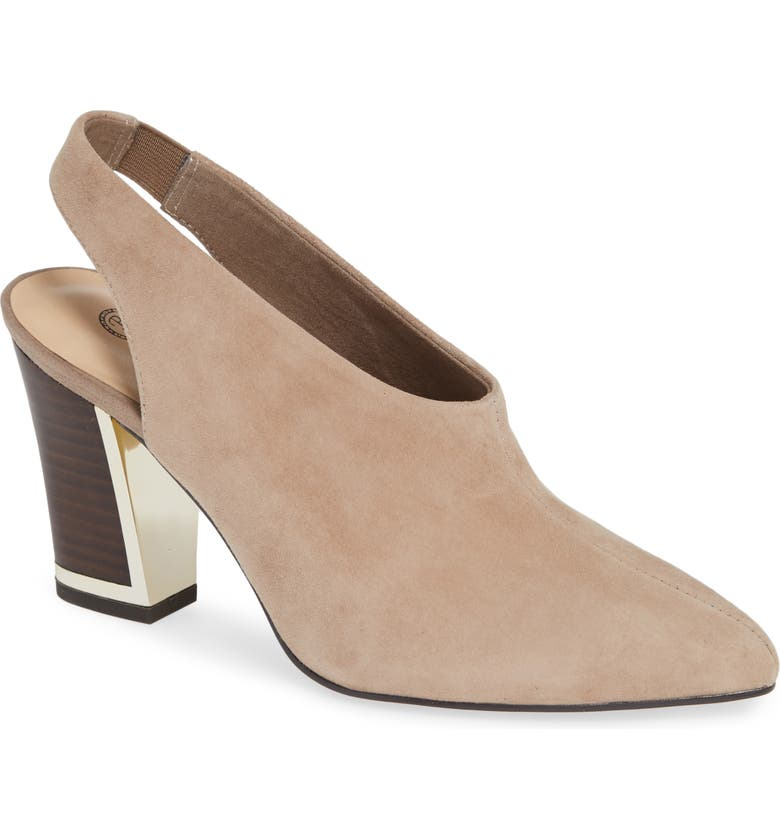 BELLA VITA Gabrielle Pump, Main, color, ALMOND SUEDE