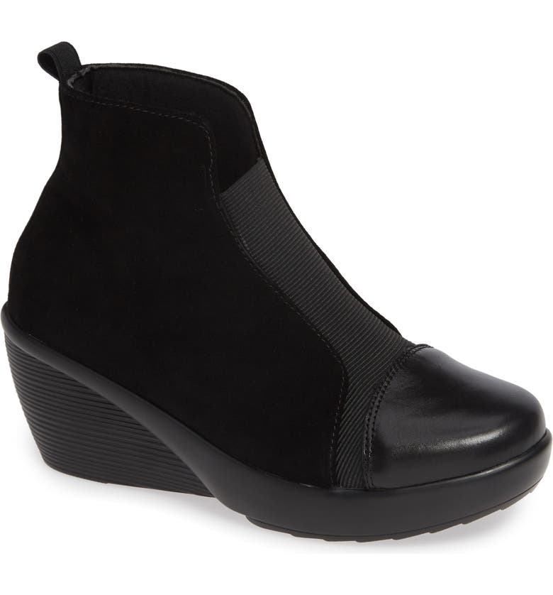 BERNIE MEV. Giggles Wedge Bootie, Main, color, 001