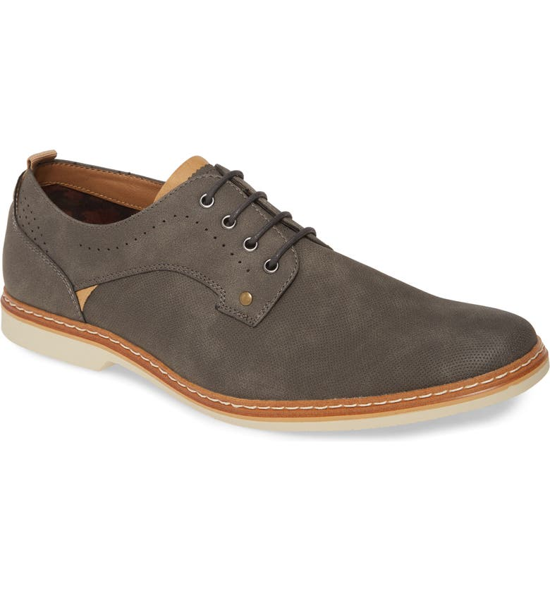 BP. Plain Toe Derby, Main, color, GREY