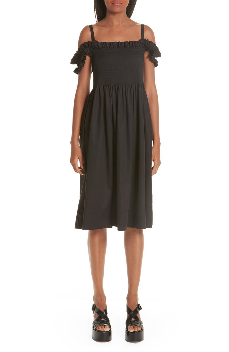 14990fd30ed81 Molly Goddard Paula Shirred Off the Shoulder Dress | Nordstrom