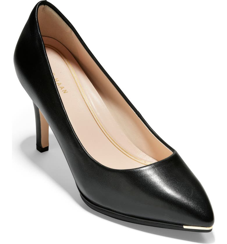 COLE HAAN Grand Ambition Pump, Main, color, BLACK LEATHER