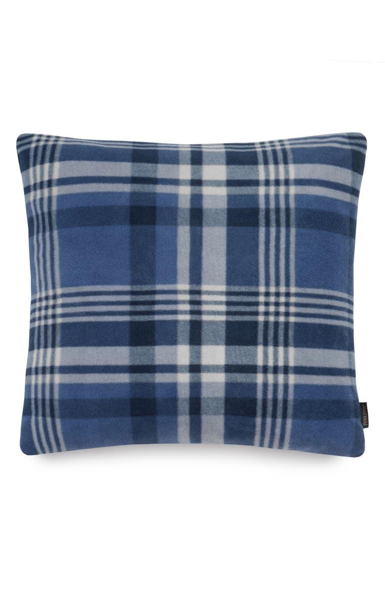 PENDLETON Teller Plaid Pillow, Main, color, 400