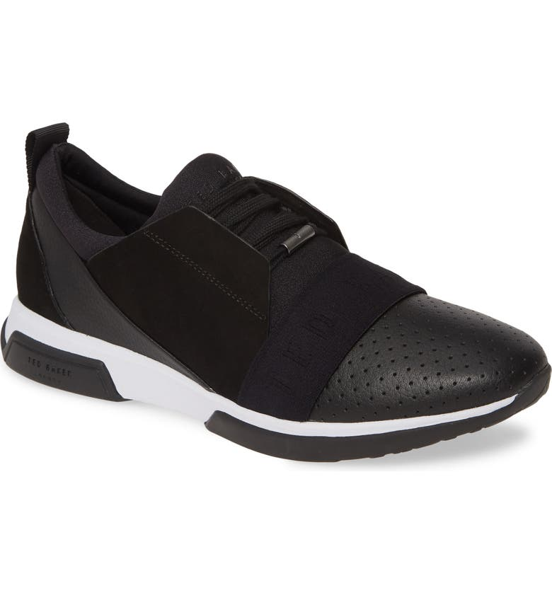 TED BAKER LONDON Cepal Sneaker, Main, color, BLACK