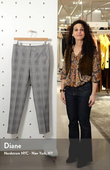 Clive Windowpane Plaid Trousers, sales video thumbnail