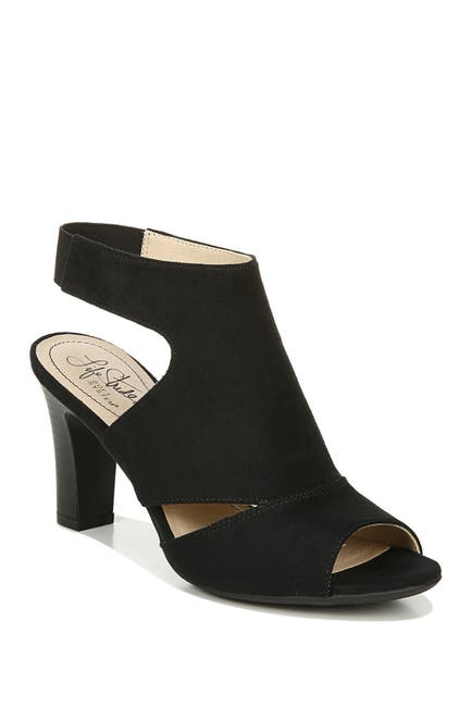 Image of LifeStride Cara Peep Toe Sandal - Wide Width Available
