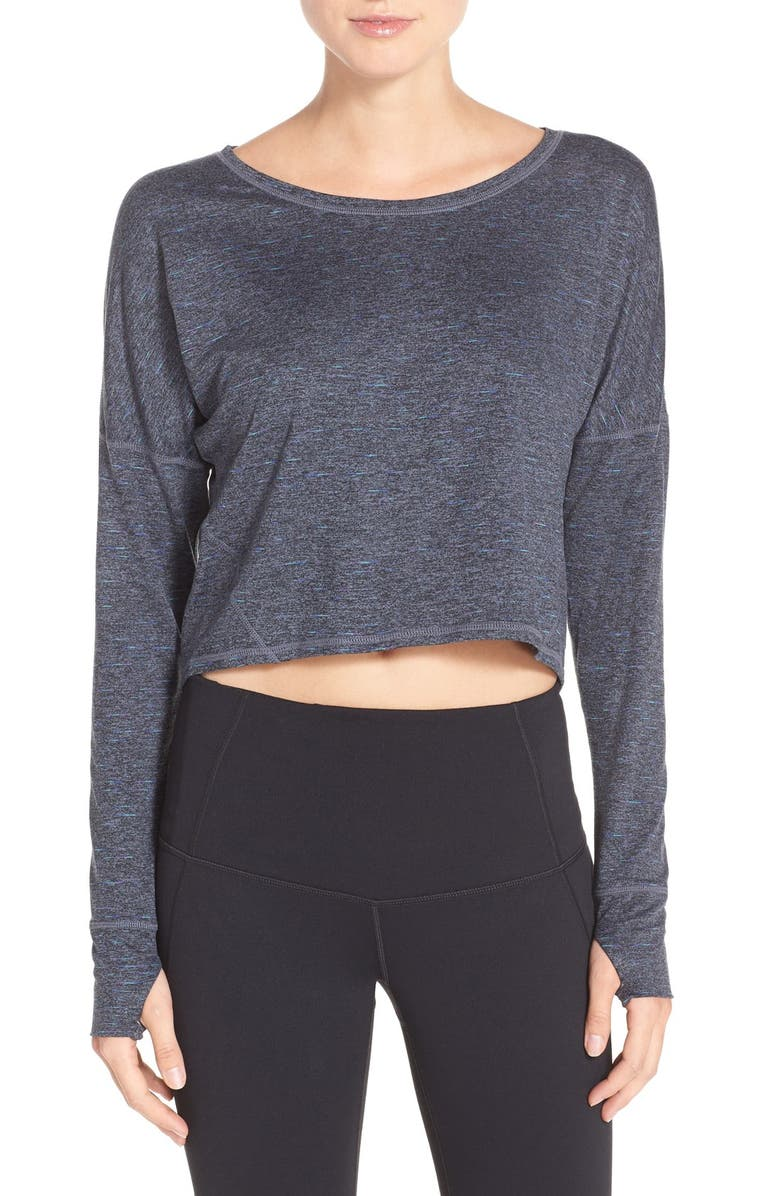 ZELLA 'Ready or Not' Crop Pullover Top, Main, color, 022