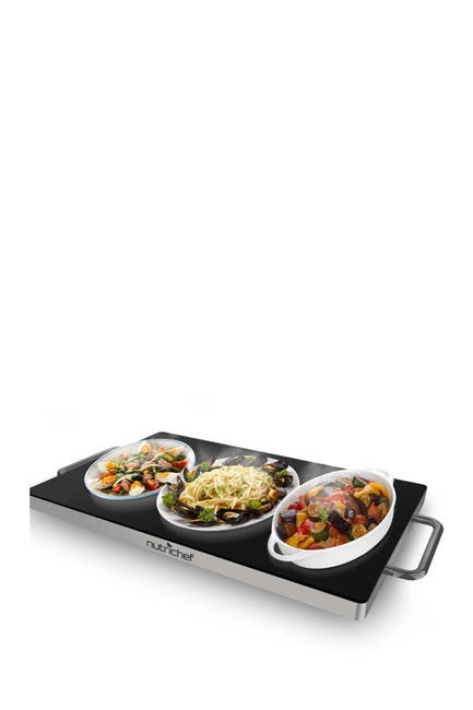 Image of NutriChef Non-Stick Electric Warming Tray
