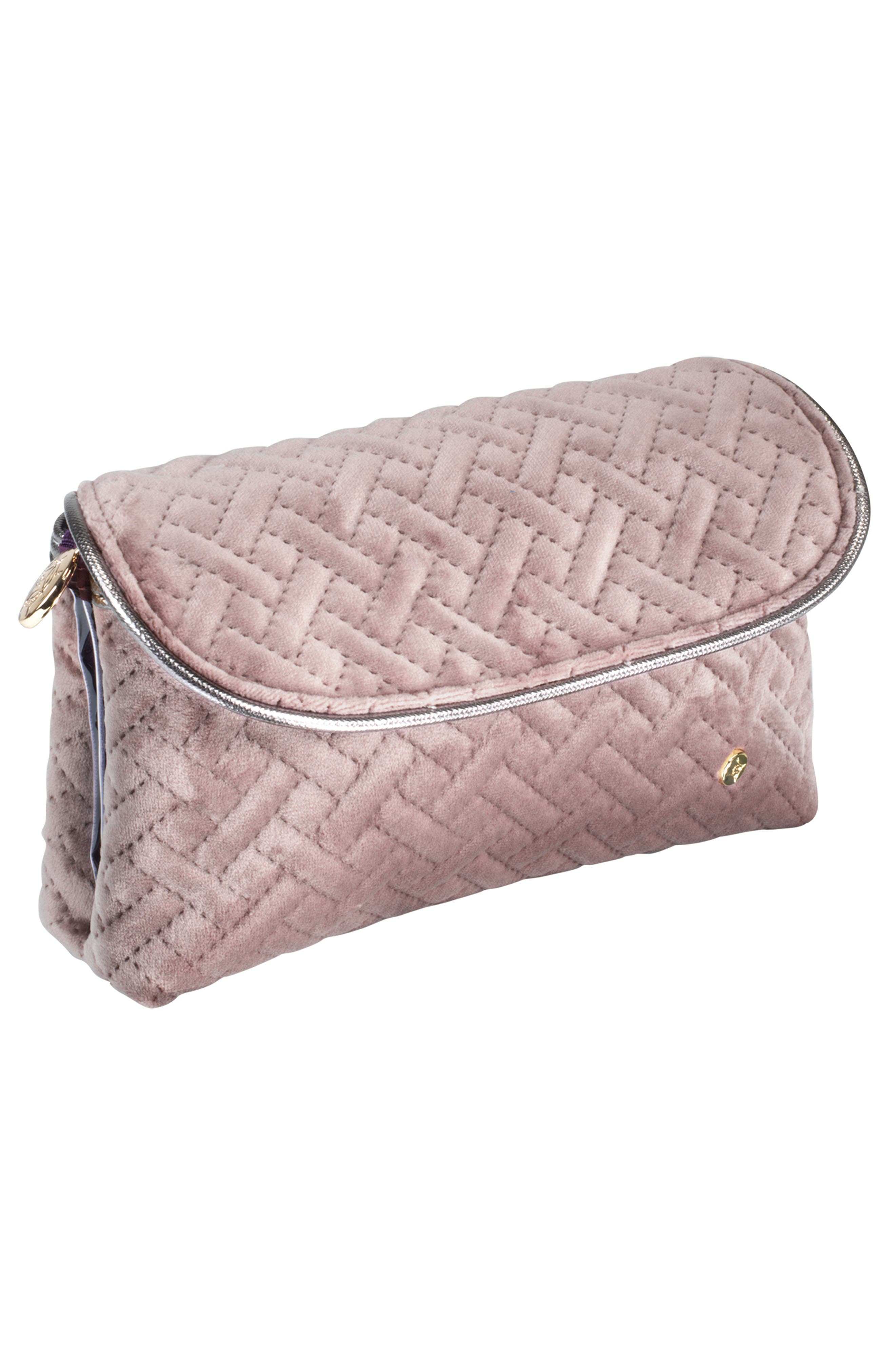 Stephanie Johnson Katie Folding Cosmetic Bag - Dusty Plum