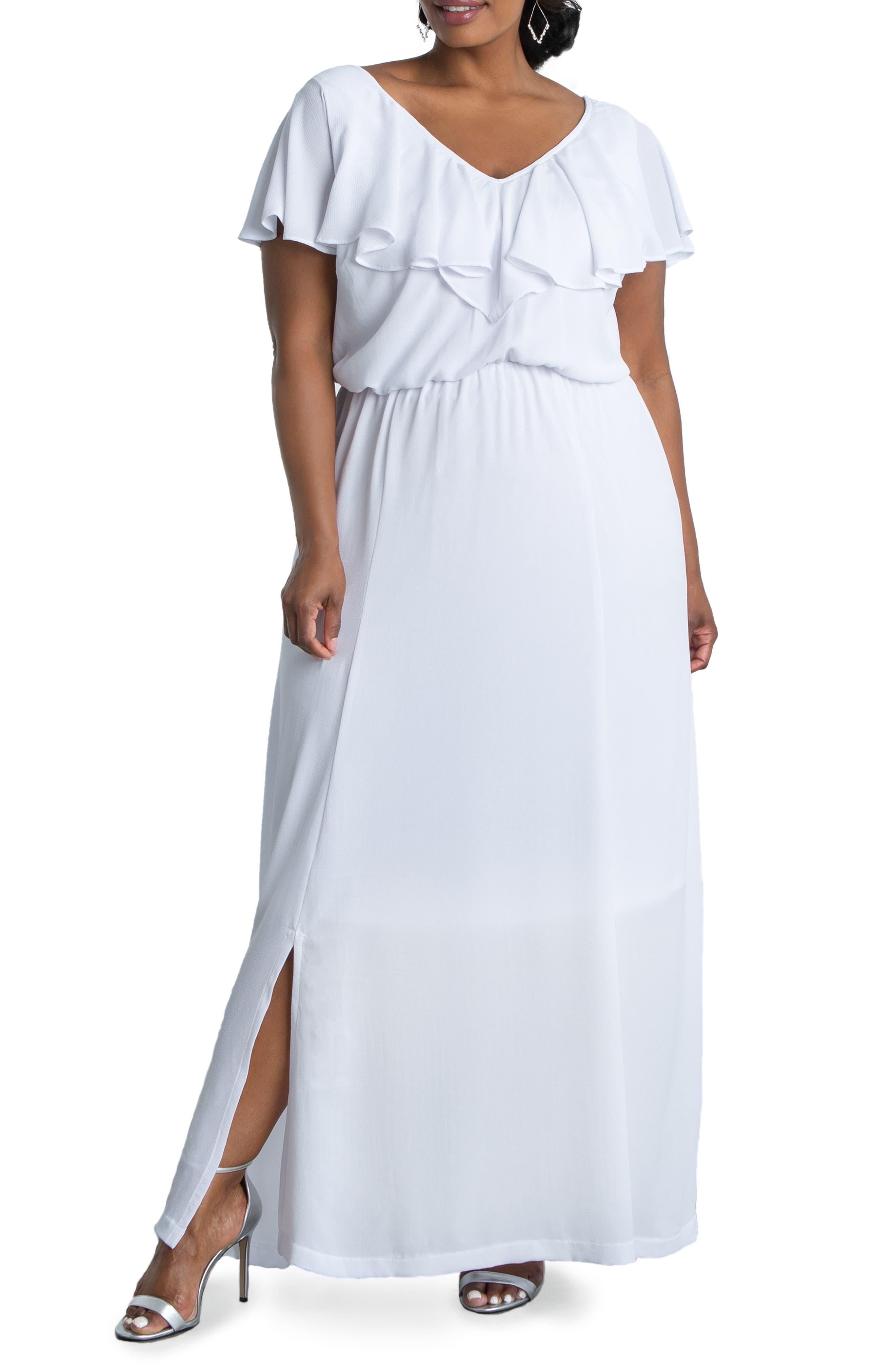 Willow Crepe Maxi Dress
